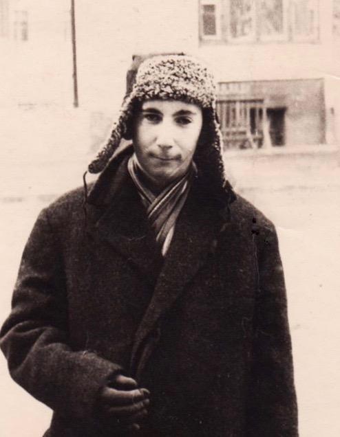 На снимке: Евгений ГИНЗБУРГ, 1960. Фото А.Корчагина
