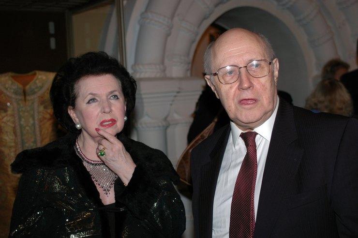 Ростропович и Вишневская