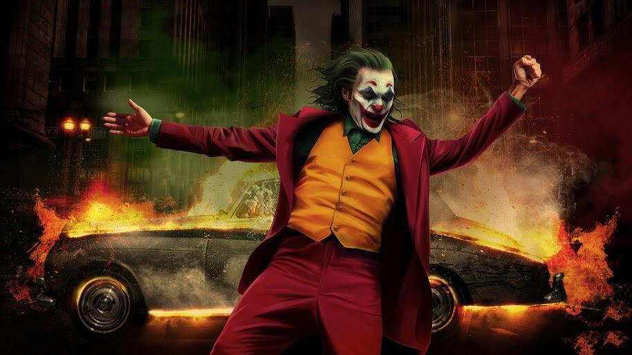 Джокер прыгнул с экрана на улицы глобальной революции