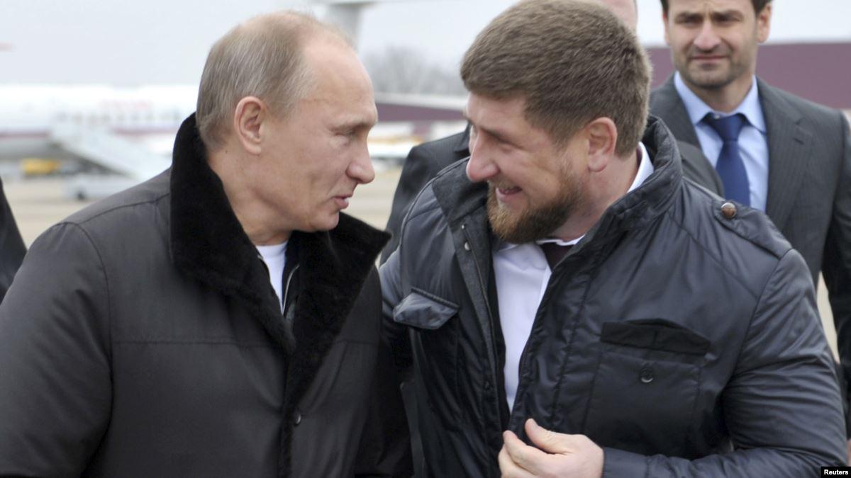 Кадыров о Путине