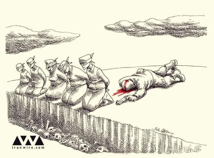 Карикатура на убийство Сулеймани