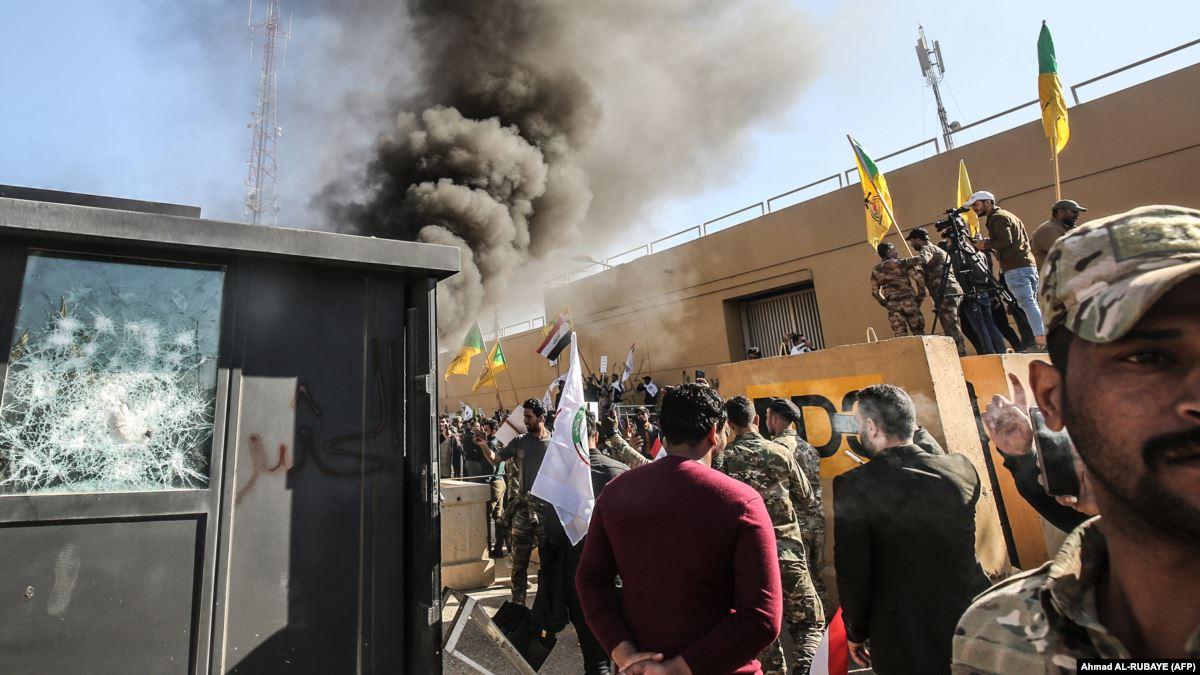 Американские истребители бомбят Ирак и Сирию