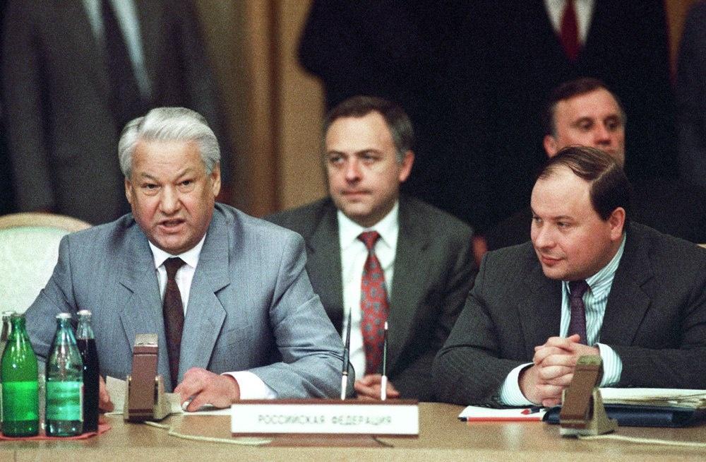 Гайдар о Ельцине