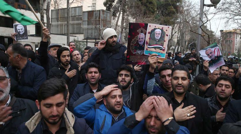 Убийство Сулеймани США Ирак