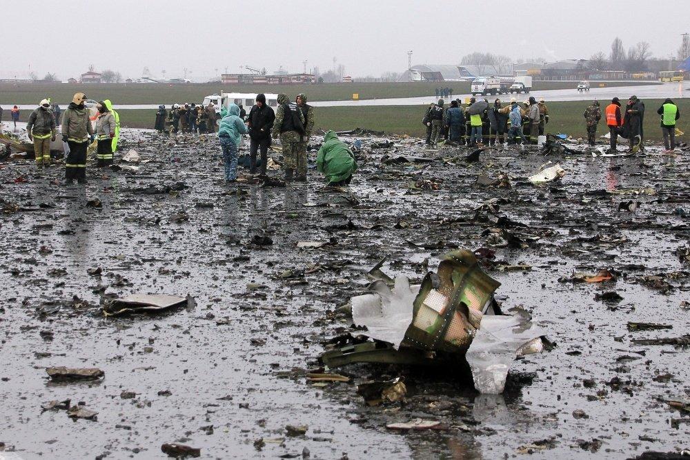 В ночь на 19 марта в аэропорту Ростова-на-Дону разбился пассажирский «Боинг-737-800»