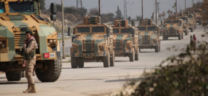 Турция объявила о широкомасштабном наступлении на сирийское правительство