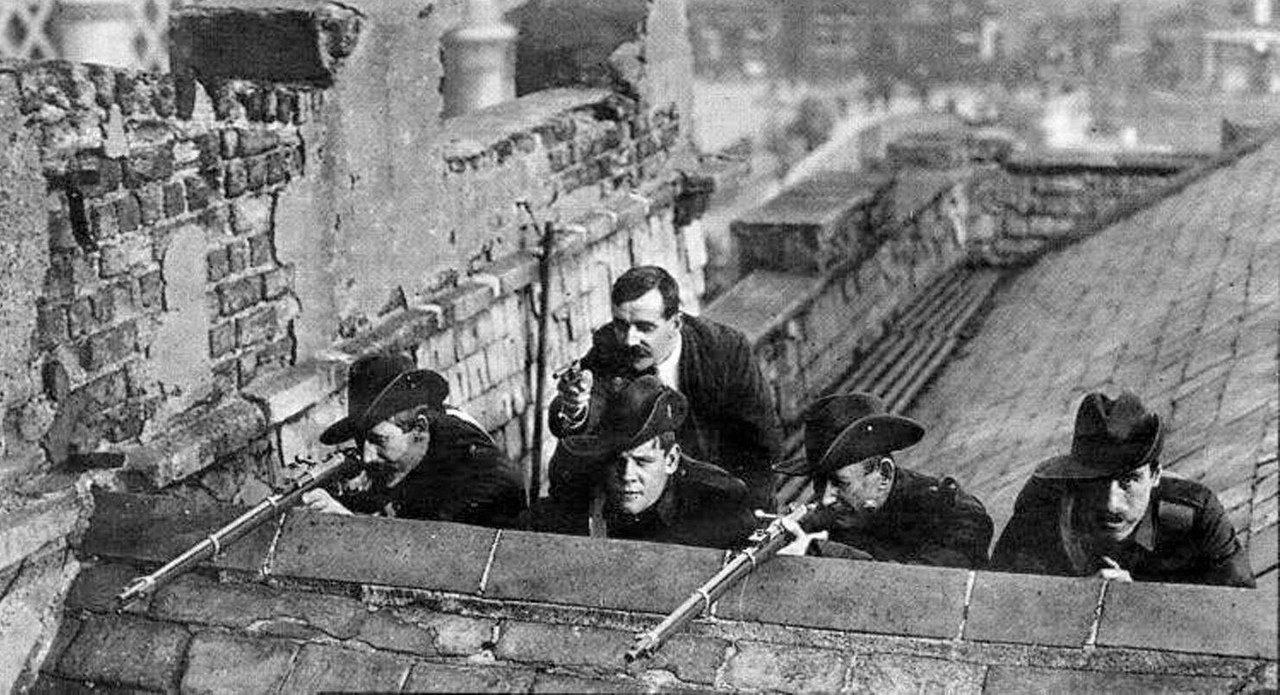 Пасхальное восстание в Ирландии как часть классовой борьбы ирландского пролетариата