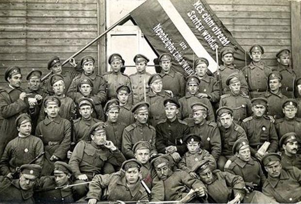 """""""Рыцари революции"""": латышские стрелки на полях гражданской войны"""