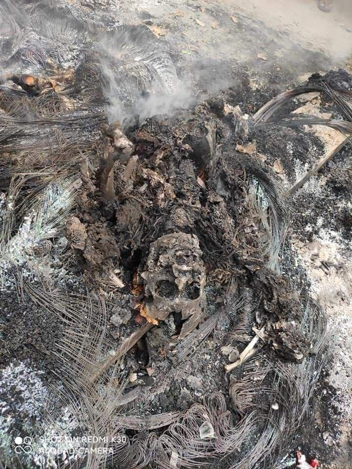 «Мама, помоги!» - житель Мандалая был ранен и заживо сожжен войсками хунты