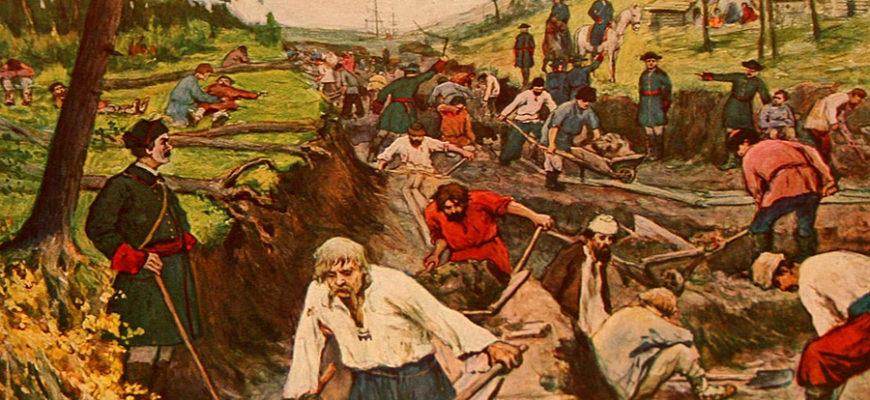 Разложение крестьянства создавало рынок на рабочую силу